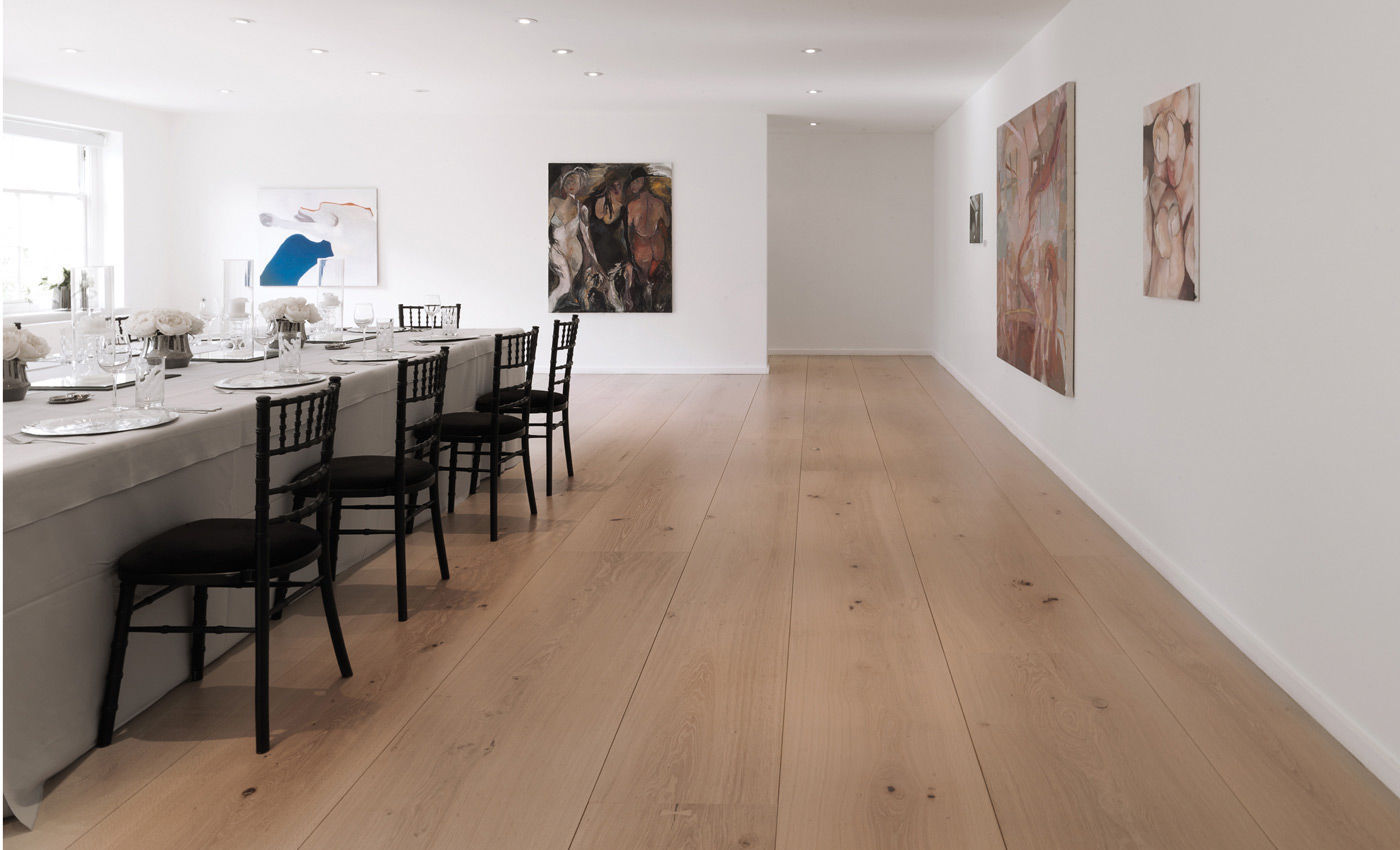 ... Solid wood flooring / glued / nailed / oak HEARTOAK Dinesen