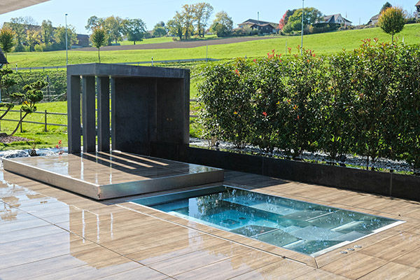 In Ground Swimming Pool Composite Stainless Steel Custom