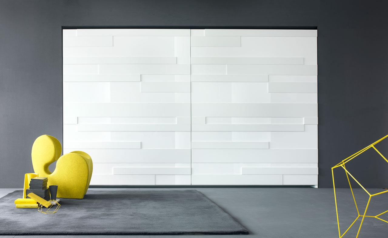 Schlafzimmerschrank design  Contemporary wardrobe / wooden / with sliding door - STRIPE by ...