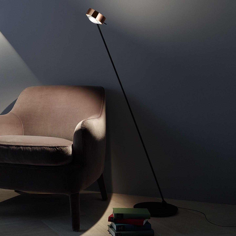 Floor Standing Lamp Contemporary Aluminum Steel Sento