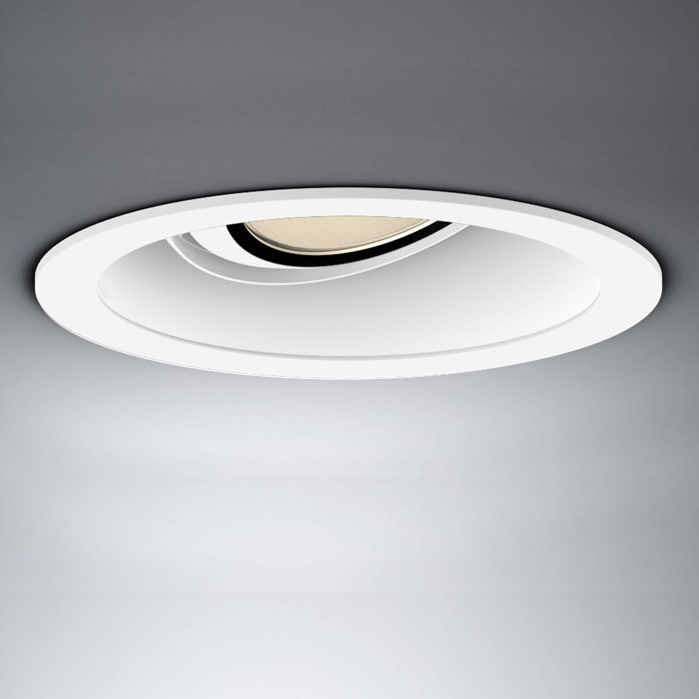 Piano Indoor Recessed Più Round Led Ceiling In M0nn8wv Spotlight R BeWCrdox