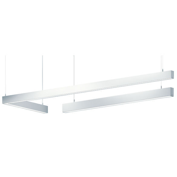 Hanging Light Fixture Fluorescent Led Linear M60 Connect
