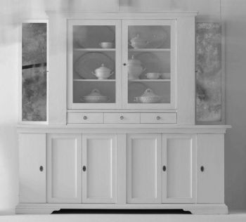 Traditional China Cabinet / Wooden ...