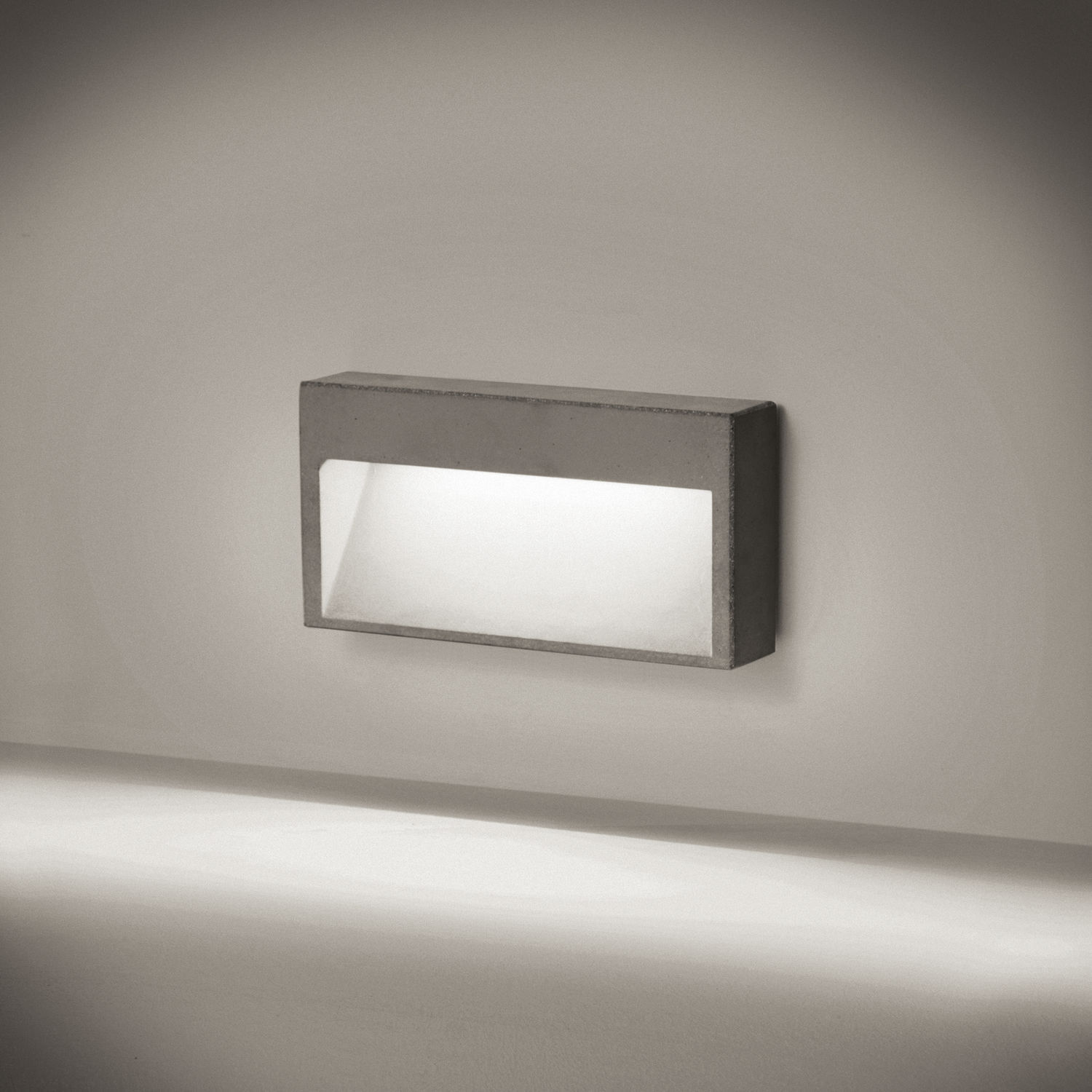 Recessed wall light fixture led rectangular outdoor concrete recessed wall light fixture led rectangular outdoor concrete wall arubaitofo Image collections