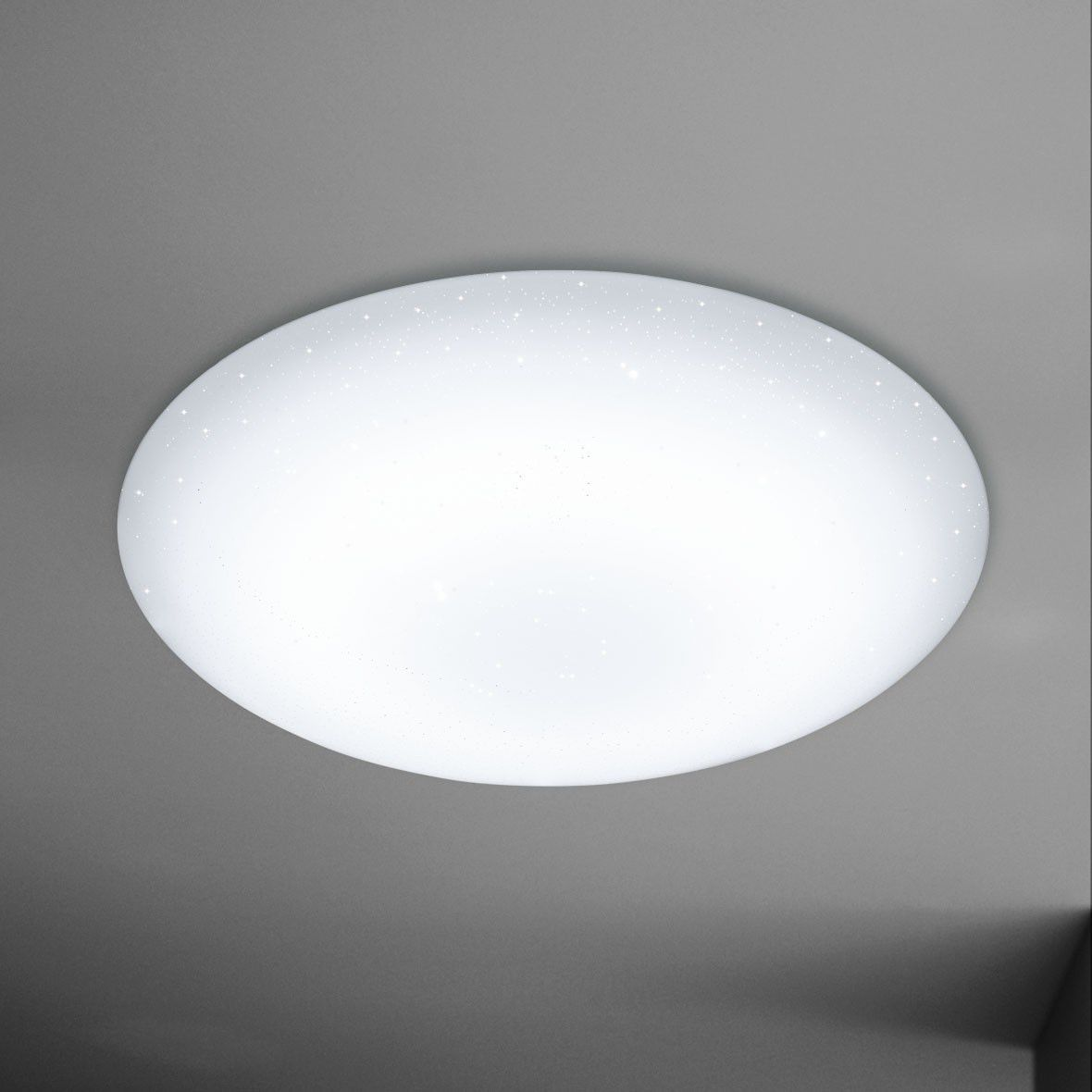 Contemporary ceiling light / round / glass / LED - CERES 1LMP - WOFI ...