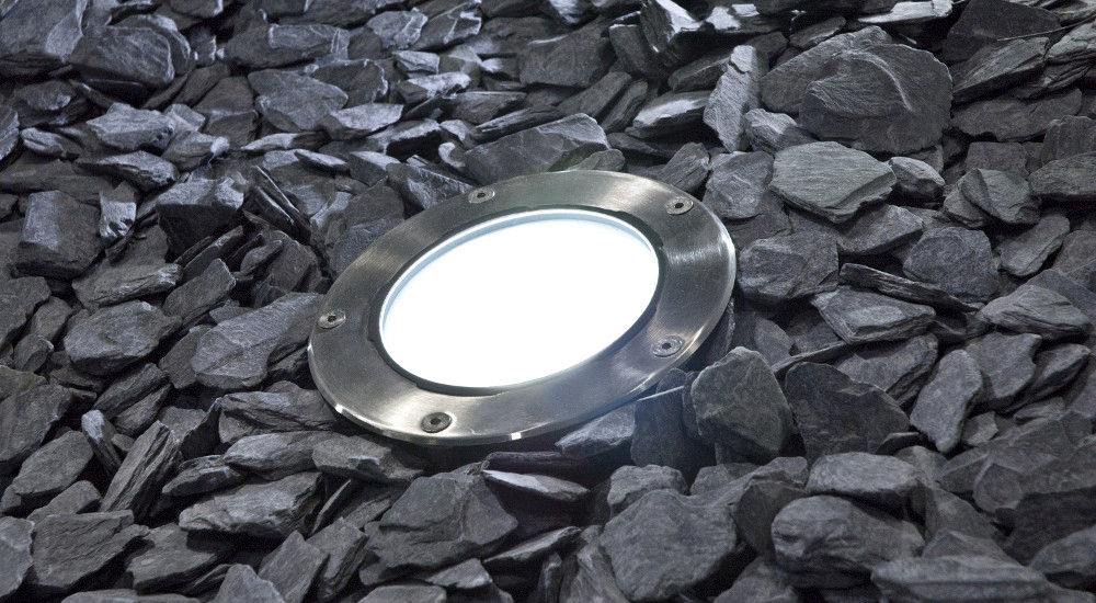 Recessed floor light fixture LED round outdoor CIRCLEX