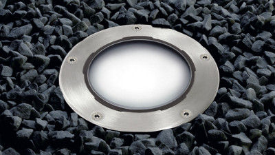 Recessed Floor Light Fixture LED Round Outdoor CIRCLEX Thorlux Lighting FW  Thorpe E