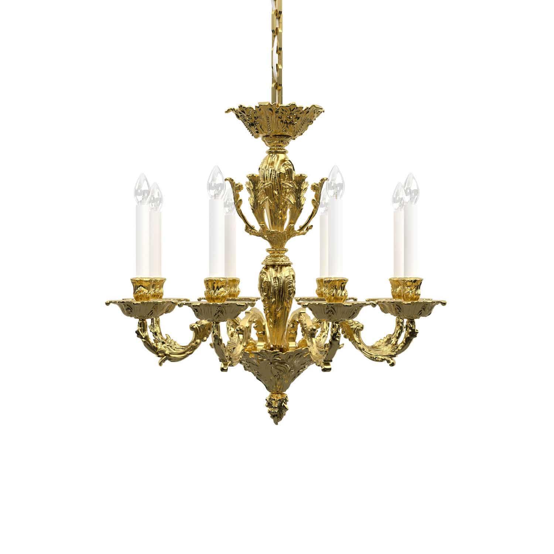 chandelier led products nickel grande lighting satin info spur