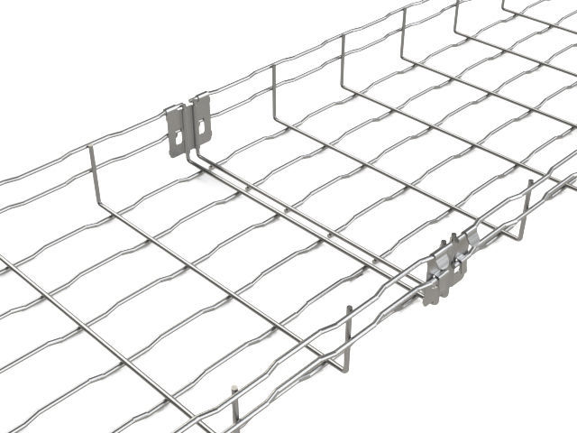 Steel wire mesh cable tray BF BASOR Electric