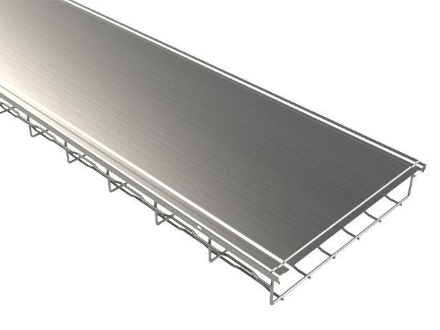 Steel wire mesh cable tray - BF - BASOR Electric,