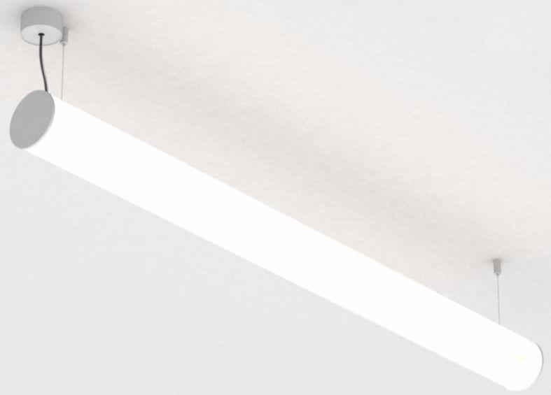 Hanging lighting profile / fluorescent / dimmable - BUNGA - PROLICHT