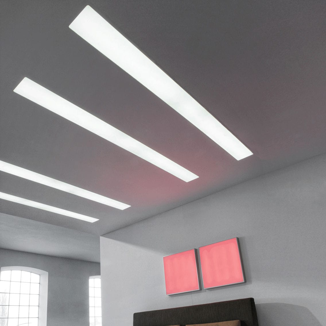 Recessed ceiling light fixture / recessed wall / LED / fluorescent ...