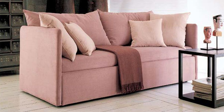 Sofa bed / contemporary / fabric / 2-seater - BEACH - FRAU FLEX