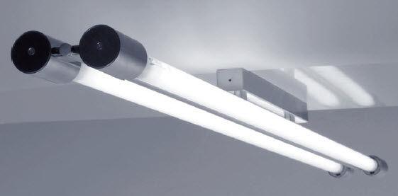 Ceiling Tube Light: Contemporary ceiling light / linear / steel / fluorescent - STRING: STD 1  by Gustav KÅ?ivinka, MiloÅ¡ Zimula,Lighting