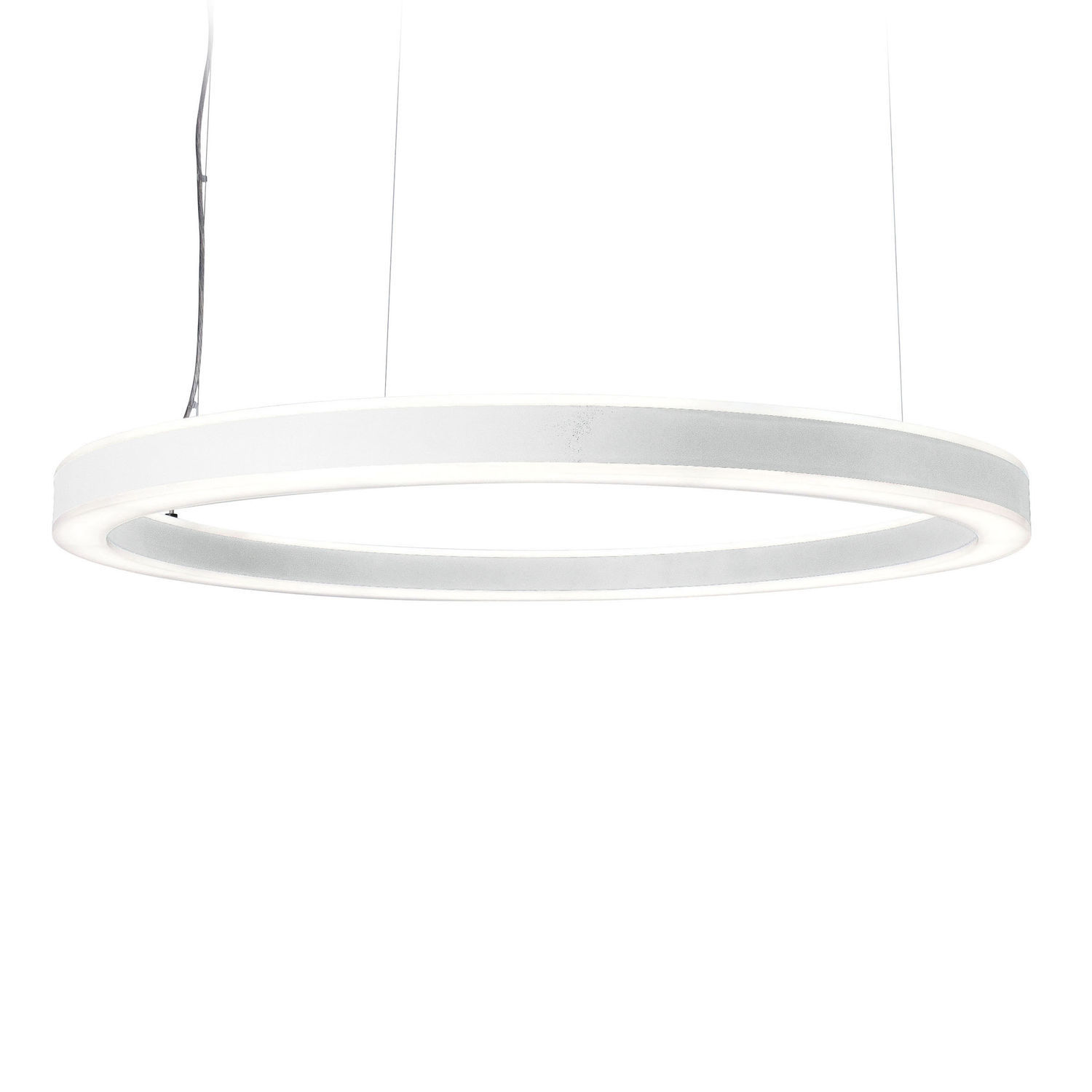 ... Hanging Light Fixture / LED / Round / Aluminum HALO Planlicht ...