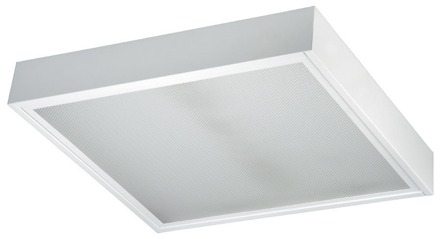 Contemporary Ceiling Light / Square / Aluminum / Sheet Steel OFFICE C Luce  ...
