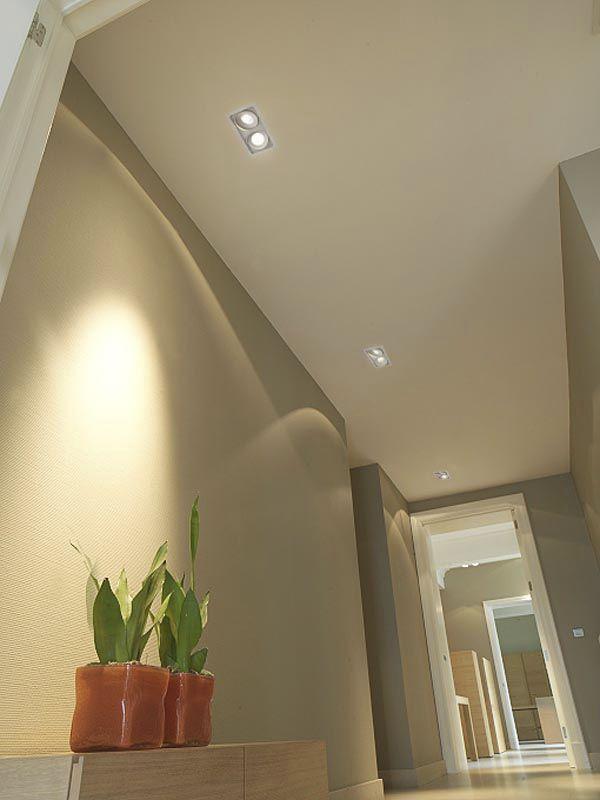 Recessed ceiling spotlight / indoor / LED / square - TITAN MULTIPLE ...