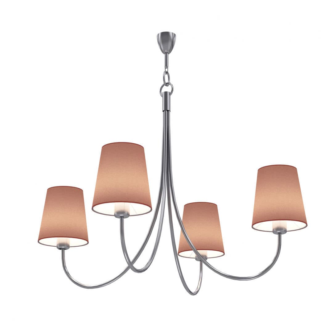 Traditional chandelier metal fabric led modena elmarco traditional chandelier metal fabric led modena arubaitofo Image collections