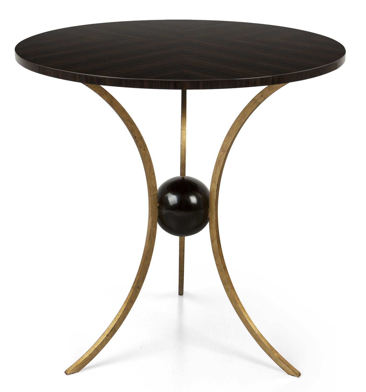 Traditional Pedestal Table / Wooden / Metal / Round   76 0234