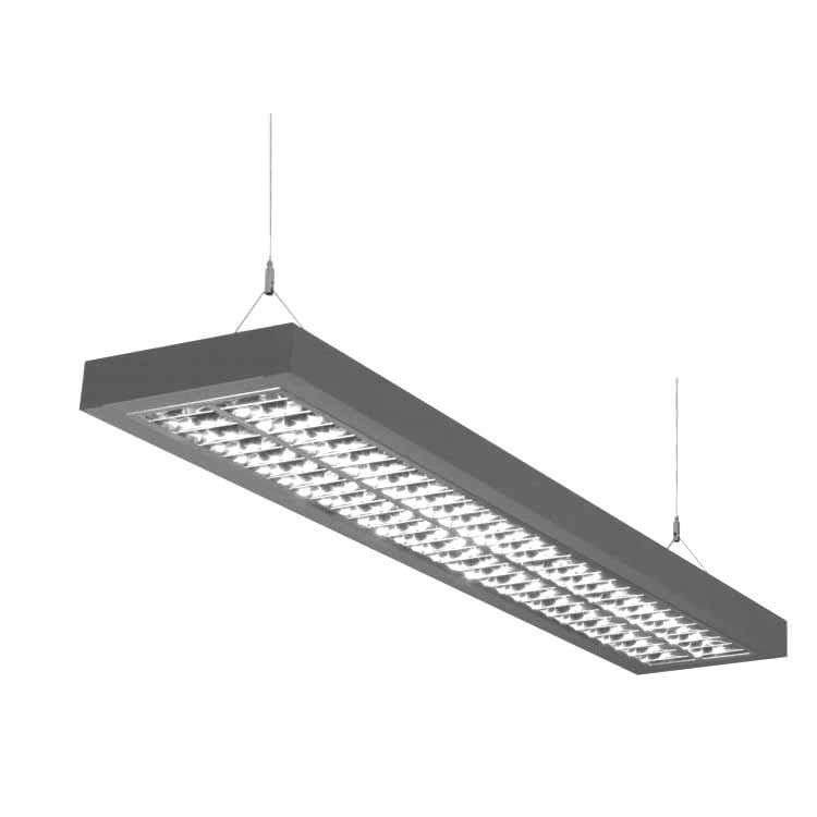 Recessed ceiling light fixture / hanging / LED / linear - AREL ...