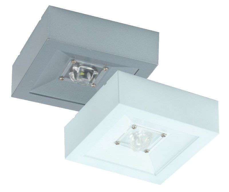 Ceiling Emergency Light Square Led Polycarbonate Lovato