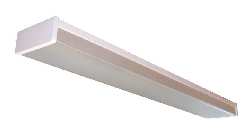 Recessed Ceiling Light Fixture Fluorescent Linear Plastic Kl