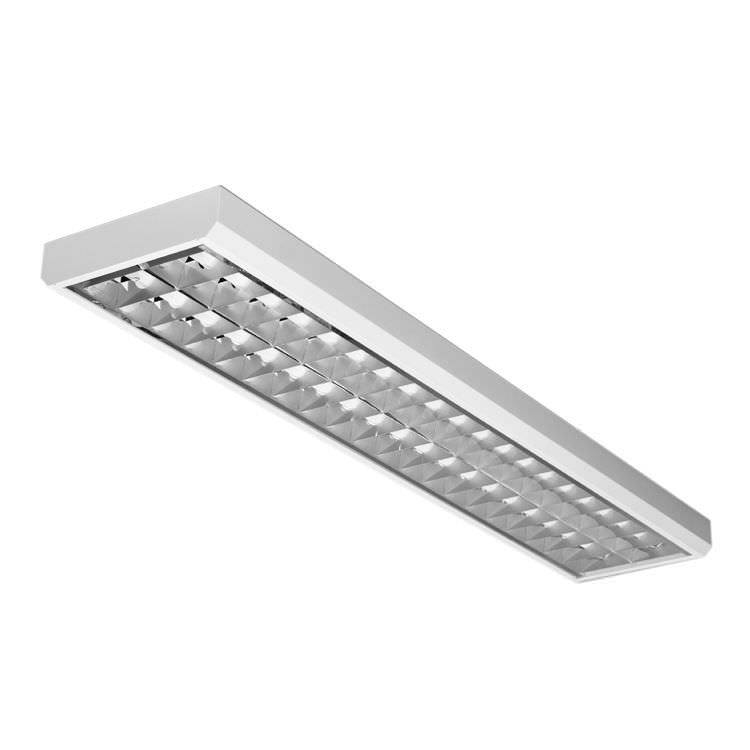 Recessed ceiling light fixture / LED / linear / aluminum - LLX