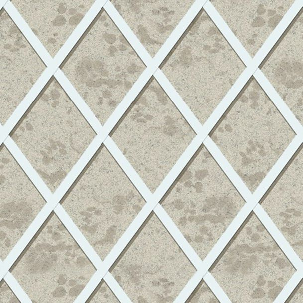 fabric wallcovering / home / printed / wallpaper look - TAKES THE STAGE : MIRROR TRELLIS