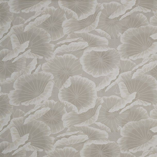 contemporary wallpaper / patterned / fabric look / gray - TEMPLE OF DAWN : NEPTUNE