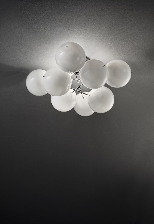 metallux lighting. contemporary wall light glass led atom metal lux metallux lighting