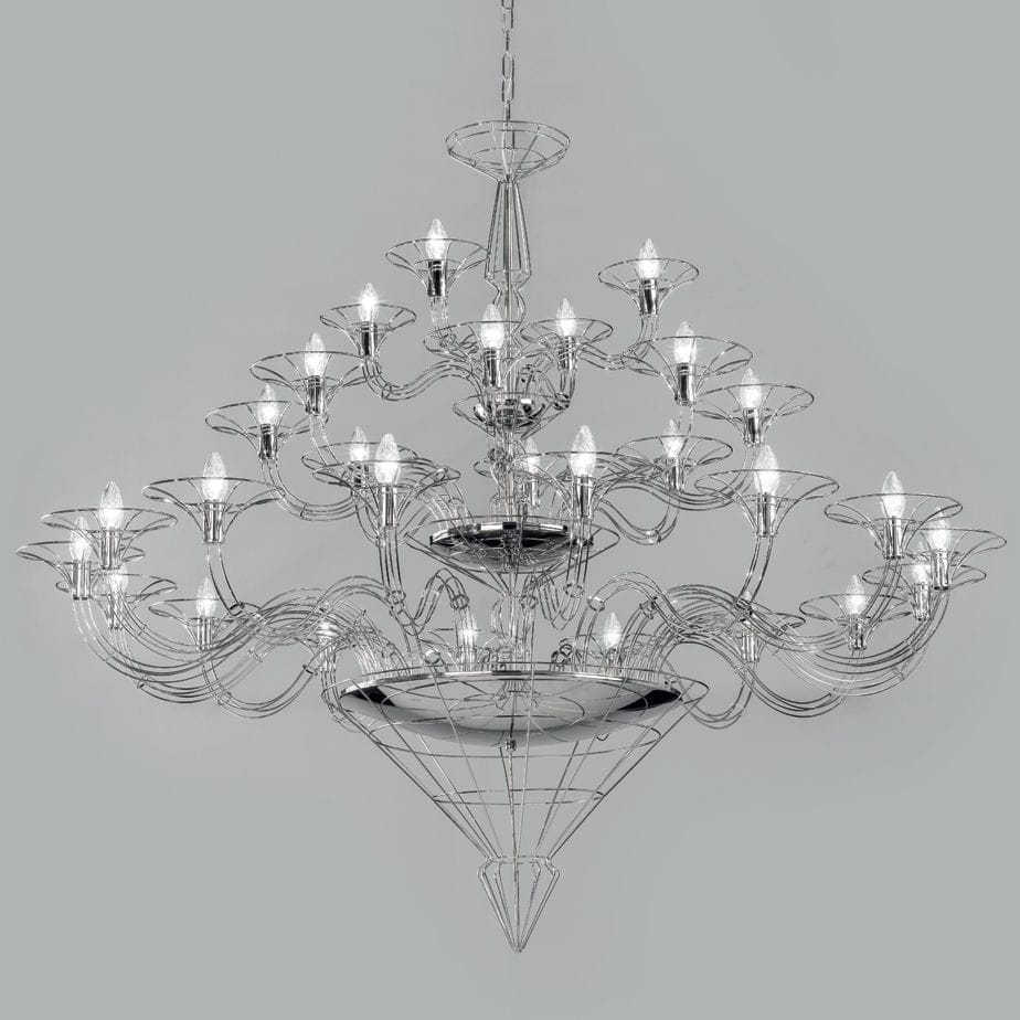 Contemporary chandelier metal dedalo by sandro santantonio contemporary chandelier metal dedalo by sandro santantonio metal lux arubaitofo Image collections
