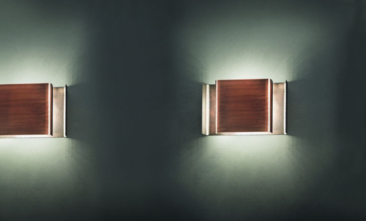 contemporary wall light rectangular wooden alalunga by enrico franzolini karboxx