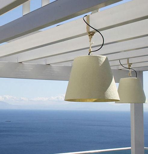 Pendant Lamp Contemporary Resin Waterproof Miami By Giordana
