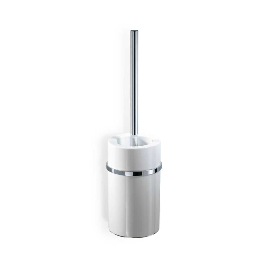 Chrome-plated brass toilet brush / wall-mounted - DW 6103 - Decor ...