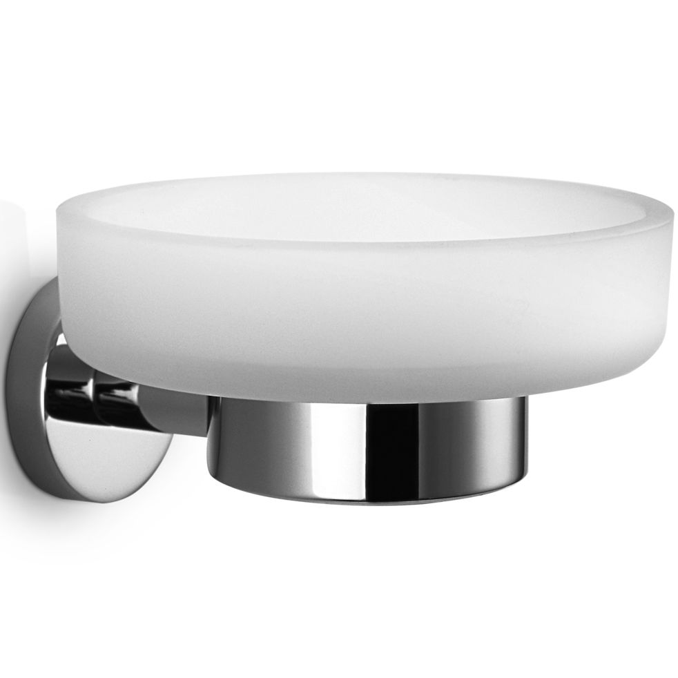 Wall-mounted soap dish / chrome-plated brass - BASIC: BA WSS - Decor ...