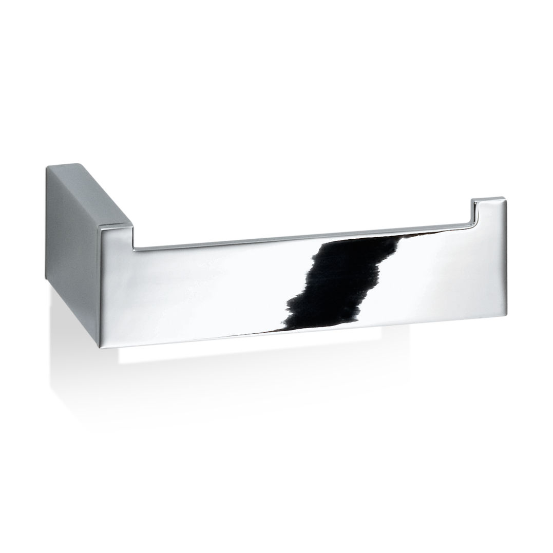 Wall-mounted toilet paper dispenser / chrome-plated brass ...