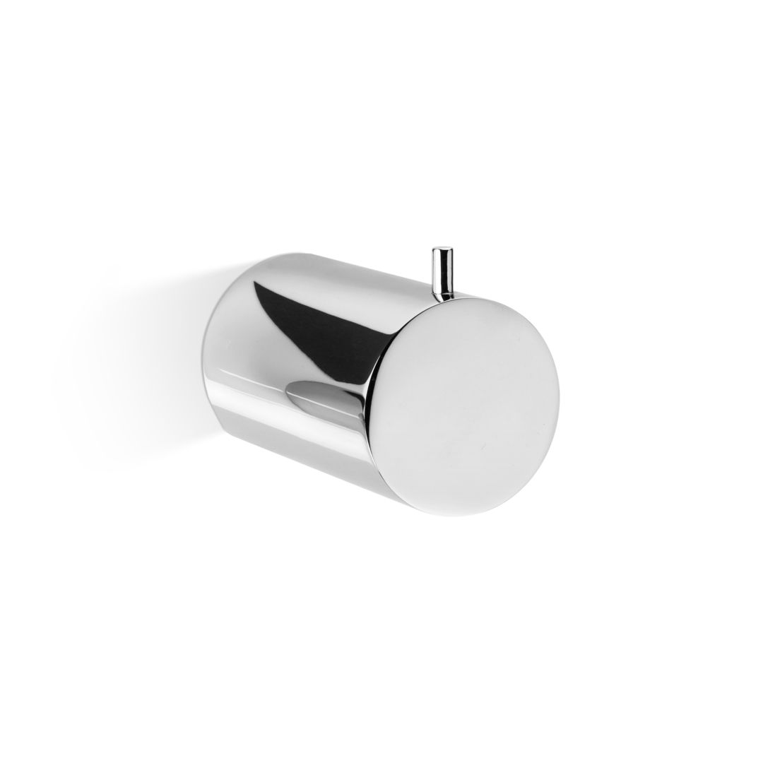 Contemporary coat hook / chrome-plated brass - TUBE: TB HAK41 ...