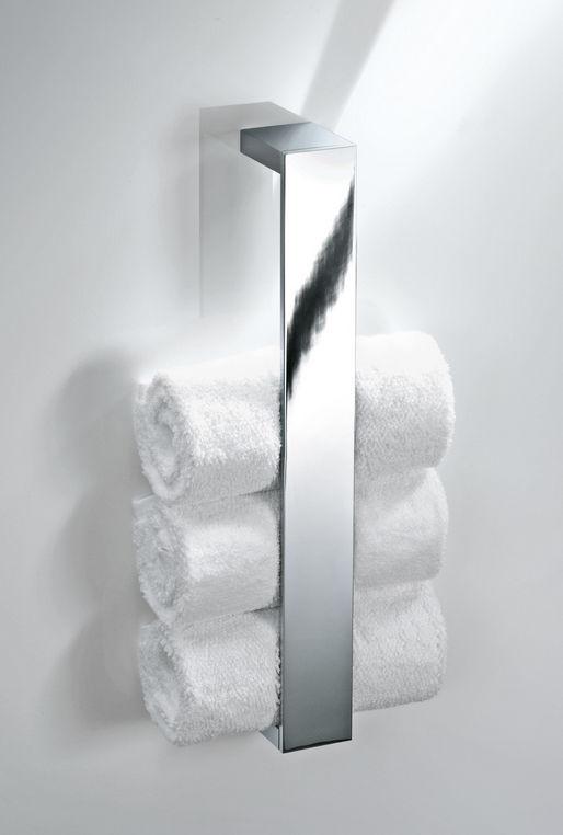 Good Chrome Towel Rack Wall Mounted Part - 6: ... 1-bar Towel Rack / Wall-mounted / Chrome-plated Brass BRICK: