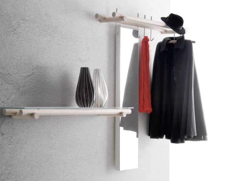 Wallmounted Coat Rack Contemporary Wooden TARGET By Enzo Impressive Target Coat Rack