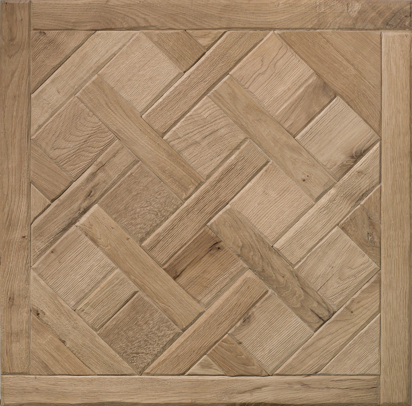 Engineered Parquet Floor Glued Oak Tile Versailles Pattern