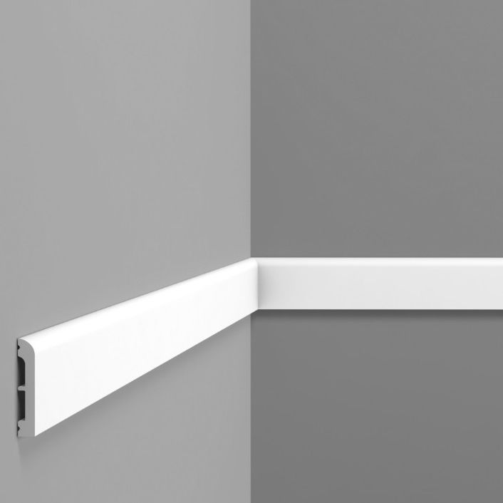 Wall-mounted cornice / for ceilings / high-density polystyrene