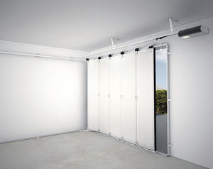sliding garage doorSliding sectional garage doors  galvanized steel  automatic