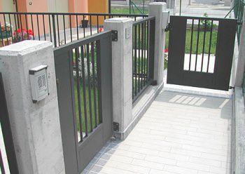 ... Metal Garden Gate GRIDIRON