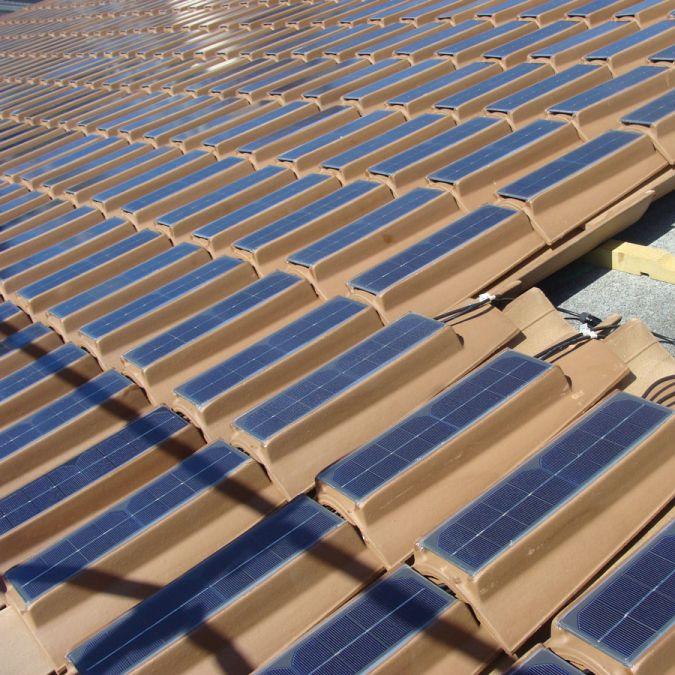 Pv Roof Tile Clay Fv20pr06