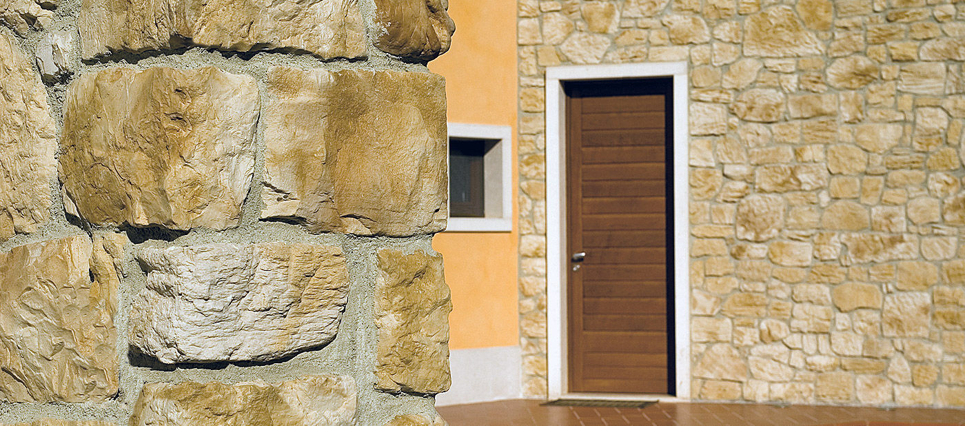 Engineered stone wall cladding panel / interior / exterior / 3D ...