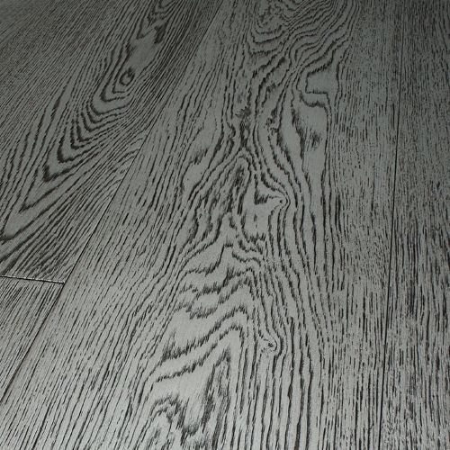 Engineered Parquet Floor Glued Oak Varnished