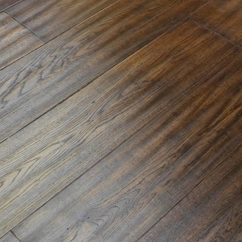 Engineered Parquet Floor Glued Oak Varnished Memory