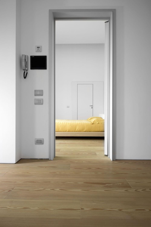 engineered wood flooring glued larch varnished maestro natural oak