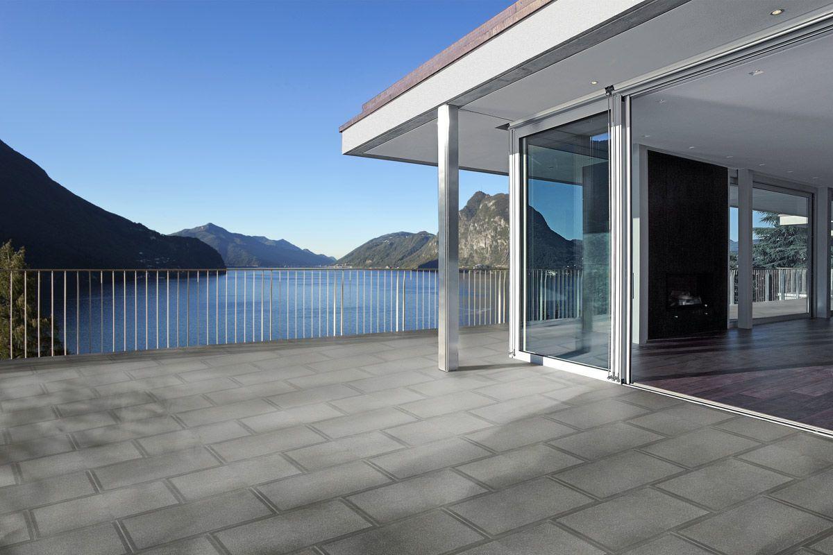 Outdoor tile / floor / concrete / matte - UNICA - FAVARO1