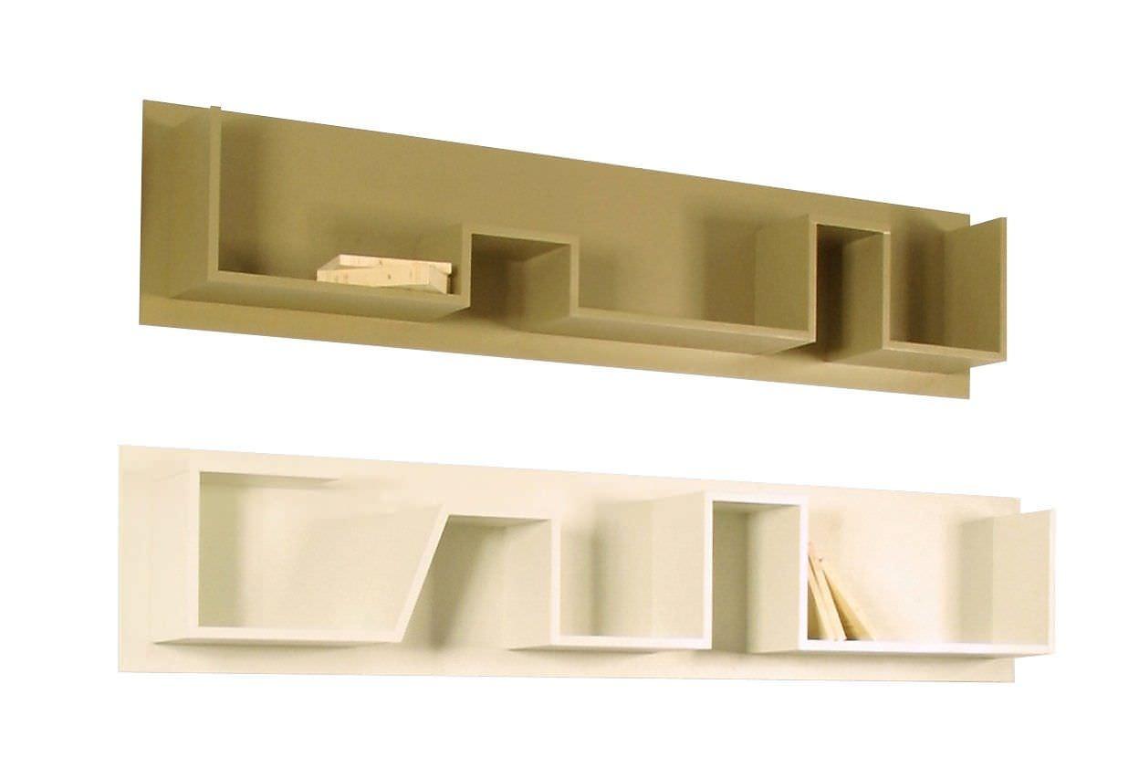 Wall mounted shelf / original design / wooden   WILDE   SISKÔ DESIGN